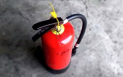 What are the different types of fire extinguisher colours?
